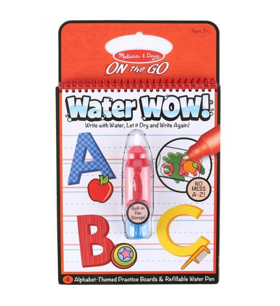 Водная многоразовая раскраска: Alphabet water-reveal pad (Алфавит)