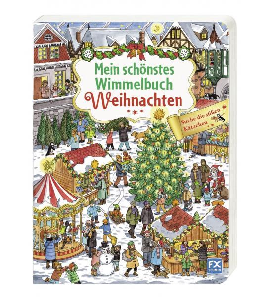 Mein schönstes Wimmelbuch Weihnachten (Ярмарка)