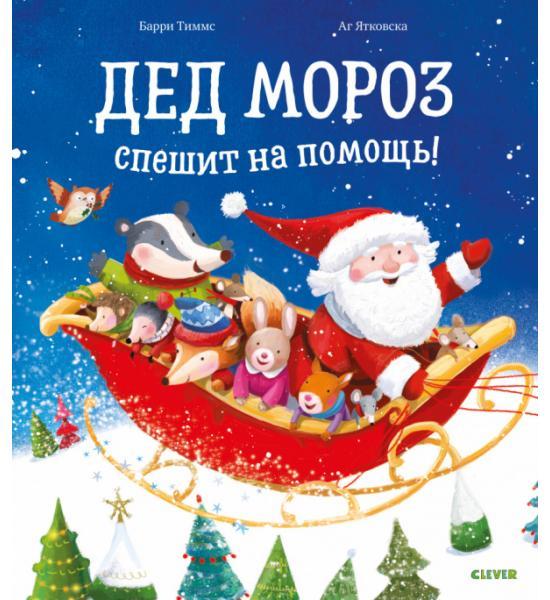 Книжки-картинки. Дед Мороз спешит на помощь!