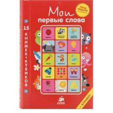 Мои первые слова. 15 книжек-кубиков. Русский язык фото