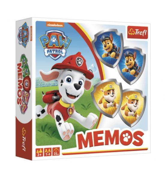 Настольная игра Мемос. Щенячий патруль