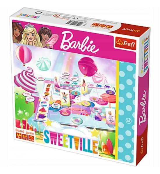 Настольгая игра. Барби в мире сладостей