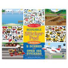Многоразовые наклейки: Sticker Pad Vehicles (транспорт) фото
